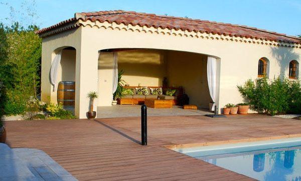 Terrasse piscine - Jad'O Parquet