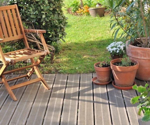 Espace détente terrasse bois - Jad'O Parquet