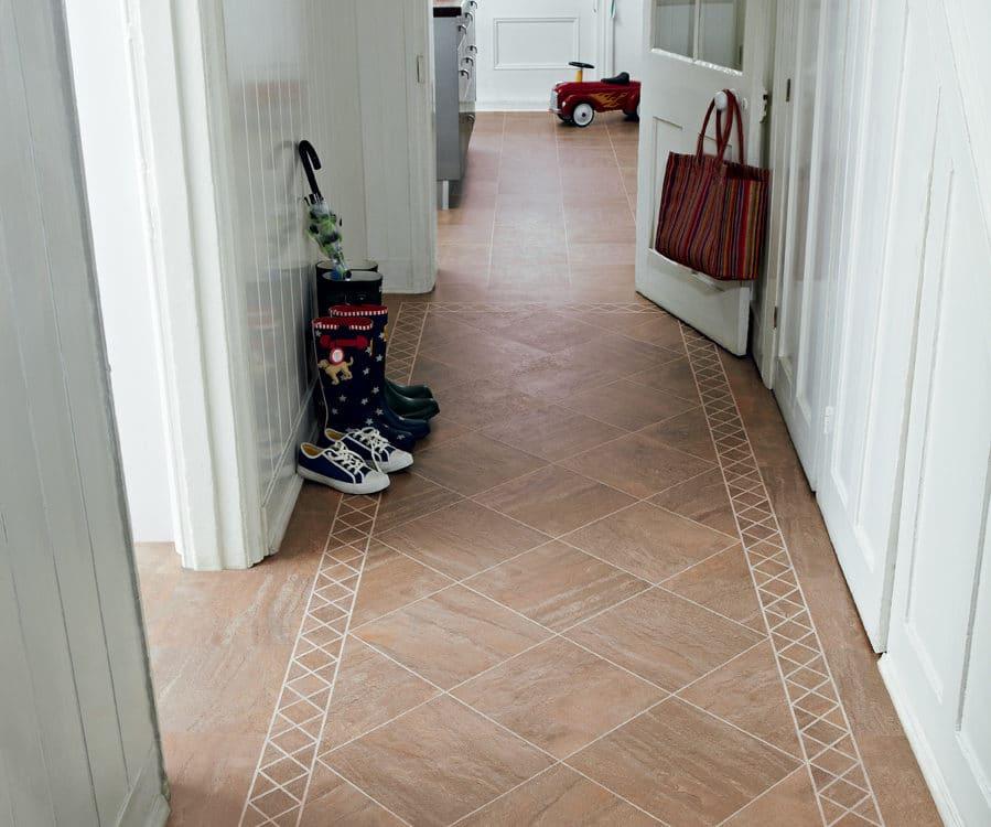 Couloir blanc maison parquet - Jad'O Parquet