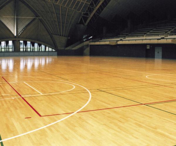 Salle omnisports sol parquet - Jad'O Parquet