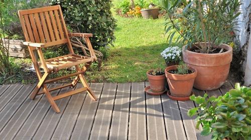Coin détente jardin terrasse bois - Jad'O Parquet