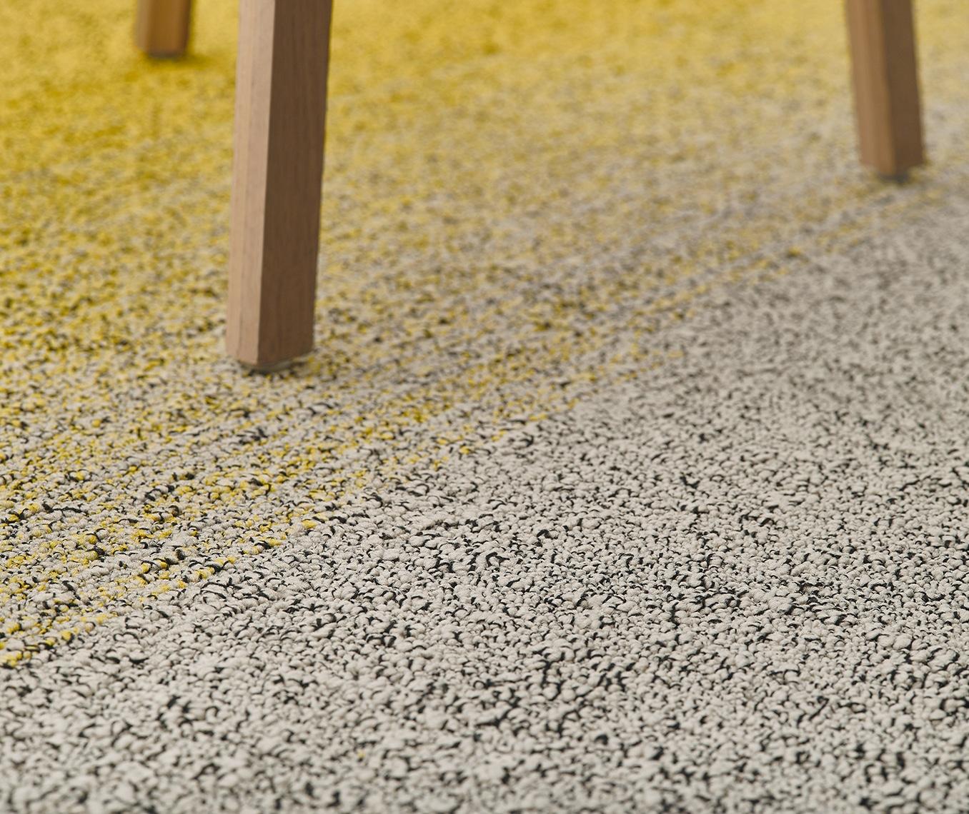 Moquette jaune et grise - Jad'O Parquet