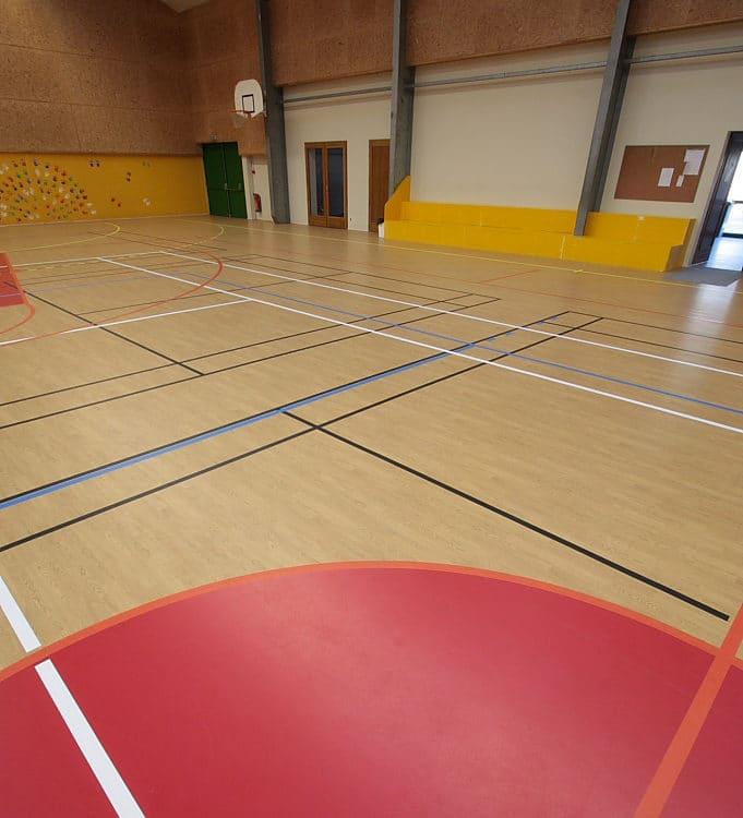 Salle de sport panier de basket - Jad'O Parquet
