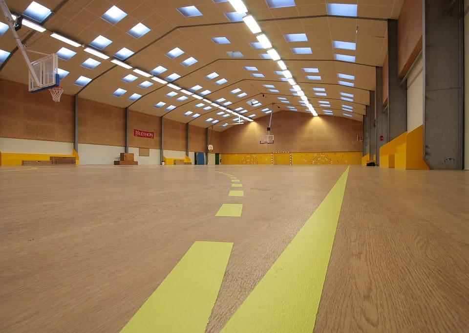 Salle omnisports changement parquet - Jad'O Parquet