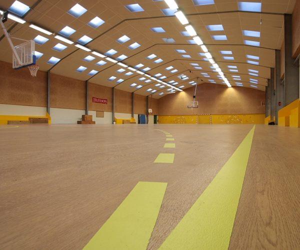 Salle de sport parquet basketball - Jad'O Parquet